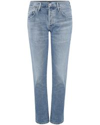 Citizens of Humanity - Emerson Boyfriend Jean In Sunday Morning - Lyst