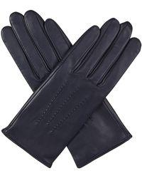 Agnelle - Julie Gloves In Navy - Lyst