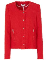 IRO - Agnette Jacket In Poppy Red - Lyst