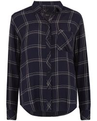 Rails - Hunter Shirt In Navy And Snow - Lyst