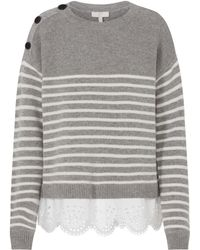 Joie - Aefre Jumper In Heather Grey - Lyst