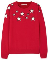 Chinti & Parker - Stardust Printed Cashmere Jumper - Lyst