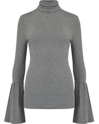 PAIGE - Kenzie Turtleneck Jumper In Dark Heather Grey - Lyst