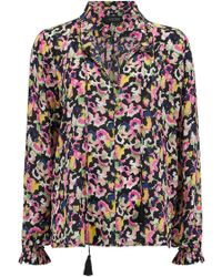 Saloni - Ali Top In Hothouse Mirage - Lyst