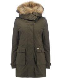Woolrich - Scarlett Eskimo 3-in--1 Parka Coat In Olive - Lyst