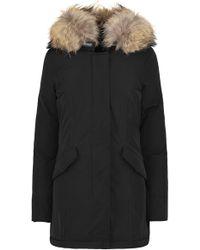 Woolrich - Luxury Arctic Parka In Black - Lyst