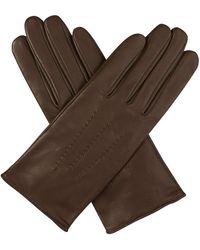Agnelle - Julie Gloves In Tourbe - Lyst