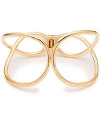 Trina Turk - Golden Wave Twisted Cuff Bracelet - Lyst