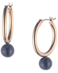 Trina Turk - Beads In Bloom Hoop Earring - Lyst