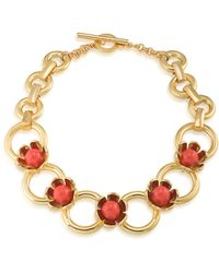 Trina Turk - Wildflower Flower Collar Necklace - Lyst