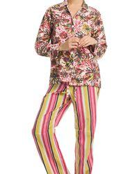 Trina Turk - Dianna Pajama Pant - Lyst