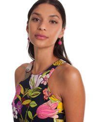 Trina Turk - Beads In Bloom Bead Drop Earring - Lyst