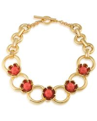 Trina Turk - Wildflower Flower Collar Necklace - Lyst