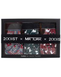 Mr Turk - 3 Pack Hound Print Trunks - Lyst