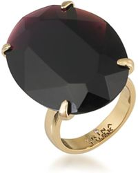 Trina Turk - Large Oval Stone Ring - Lyst