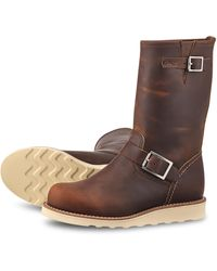 Red Wing Red Wing Classic Engineer 3471 Kupfer Rough & Tough - Braun