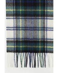 Barbour Vestido Gordon nuevo cheque tartán bufanda - Verde