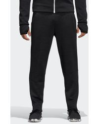 f41d3a575cb adidas Originals Zne Cuffed Joggers With Side Pocket In Black B46965 ...