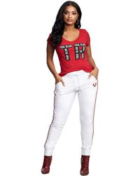 True Religion - True Rounded V Tee - Lyst