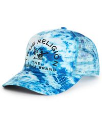 222a3c49ffcbd Lyst - True Religion Denim Mens Baseball Cap in Blue for Men