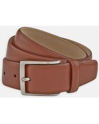 Turnbull & Asser - Brick Red Smooth Leather Belt - Lyst