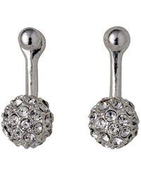 Pilgrim - Amalia Silver Plated Earrings - Lyst