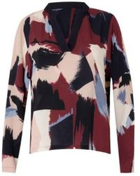 COSTER COPENHAGEN - Paint Print Long Sleeve Shirt - Lyst