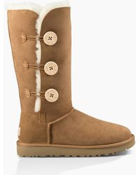 UGG - Bailey Button Triplet Ii Boot Bailey Button Triplet Ii Boot - Lyst