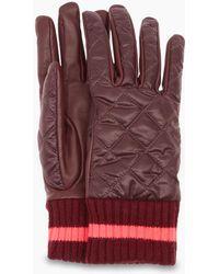 UGG - Women's Quilted Varsity Glove - Lyst