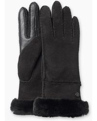 UGG - Women's Sheepskin Exposed Slim Tech Glove - Lyst