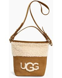 UGG - Women's Share This Product Libby Sheepskin Bucket Tote - Lyst