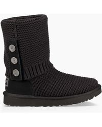 UGG - Women's Purl Cardy Knit Boot - Lyst