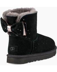 UGG - Classic Mini Stargirl Bow Boot Classic Mini Stargirl Bow Boot - Lyst