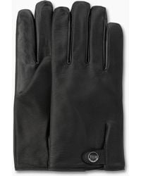 UGG - Men's Leather Smart Snap Glove - Lyst