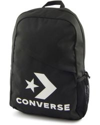 ba169e0d9c0 Converse Speed Backpack Star Chevron Women s Backpack In Black in ...
