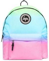 Hype Rainbow Pastel Gradient Backpack Bag - Multicolour