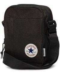 ad0233f46e0d Converse Chuck Taylor All Star Cross Body Bag in Black for Men - Lyst
