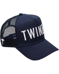 TWINZZ - 3d Mesh Trucker Adjustable Baseball Cap - Lyst