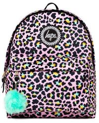 Hype Disco Leopard Backpack Bag