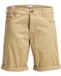Jack & Jones - Rick Ss18 Chino Shorts Kelp Beige - Lyst
