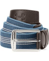 Under Armour - Men's Ua Striped Performance Stretch Belt - Lyst