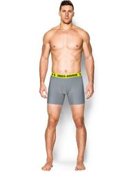 "Under Armour - Men's Ua Heatgear® Performance 6"" Boxerjock® 2-pack - Lyst"