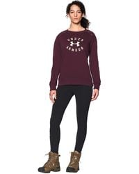 Under Armour - Women's Ua Established Crew - Lyst