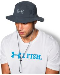 Under Armour Men s Ua Fish Hook Bucket Hat in Gray for Men - Lyst c79e68f4bfb