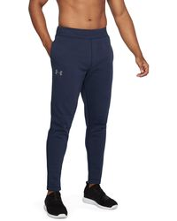 Under Armour - Men's Ua Rival Fleece Fitted Pants - Lyst