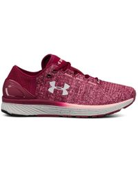 Under Armour - Charged Bandit 3 (black Currant/pink Sands/glacier Gray) Running Shoes - Lyst