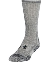 Under Armour - Men's Ua Charged Wool Boot Socks 2-pack - Lyst