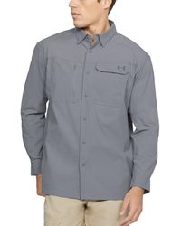 Under Armour - Men's Ua Fish Hunter Solid Long Sleeve - Lyst