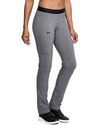 Under Armour | Women's Ua Favorite Straight Leg Pants | Lyst