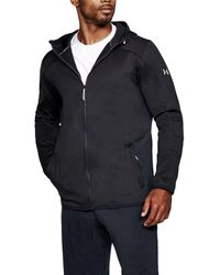 Under Armour - Men's Coldgear® Reactor Fleece Full Zip Hoodie - Lyst